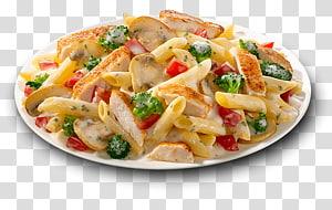 pasta salad on plate, Penne Caesar salad Pasta salad Italian cuisine, Pizza Pasta PNG clipart