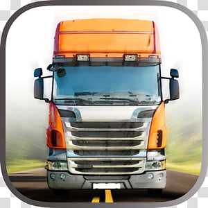 Truck Driver Highway Race 3D Truck Driver 3D Drive Euro Racing Real Truck simulator Commercial vehicle, truck PNG clipart