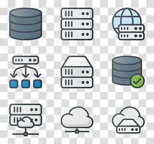 Computer Servers Computer Icons Database server, server PNG clipart