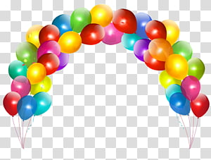Birthday Wish Balloon Party , pink balloon PNG clipart
