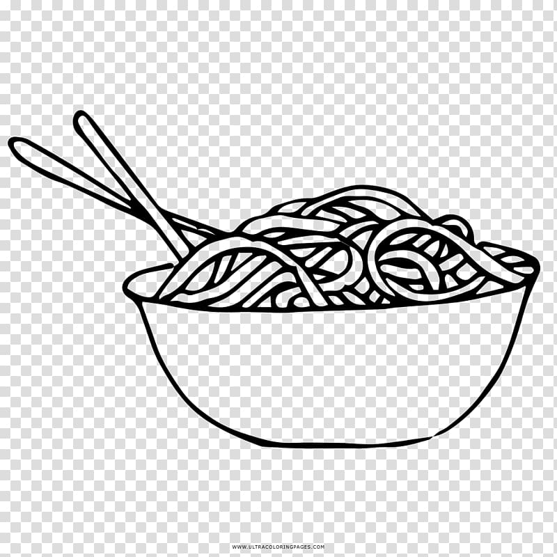 Coloring book Pasta Drawing Tagliatelle Noodle, others PNG