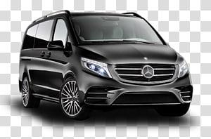 black Mercedes-Benz Vito minivan , Mercedes V-Class Minivan Mercedes-Benz Vito Mercedes-Benz Viano, mercedes PNG