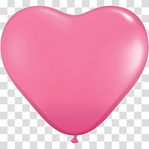 Balloon Heart Party Helium White, balloon PNG