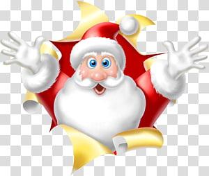 Santa Claus Desktop Christmas Rudolph , santa claus PNG clipart