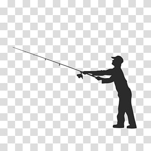 Fishing Fisherman, fishing pole PNG clipart