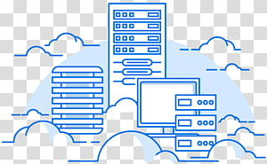 Cloud computing Web hosting service Computer Servers Virtual private server Virtual private cloud, Cloud Server PNG clipart