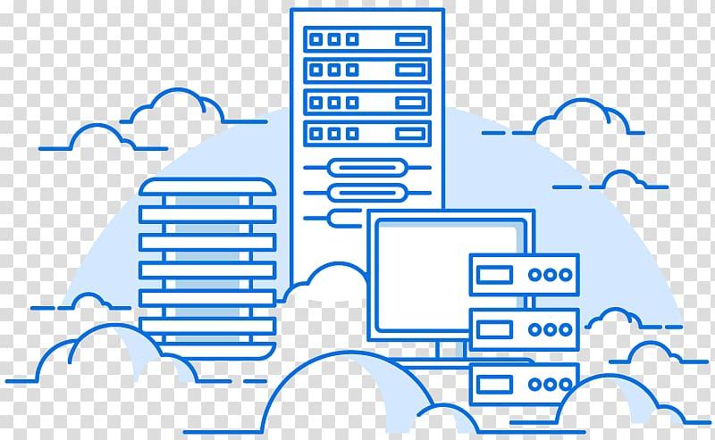 Cloud computing Web hosting service Computer Servers Virtual private server Virtual private cloud, Cloud Server PNG