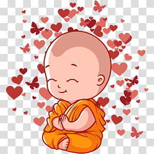 Sticker Telegram Buddhahood Messaging apps, baby groot sticker PNG