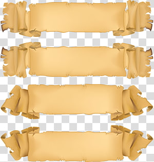 Paper Banner , others PNG