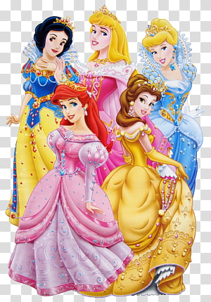 Disney Princesses Areal, Cinderella, Belle, Snow White, and Aurora , Minnie Mouse Ariel Princess Aurora Disney Princess Anna, princess PNG