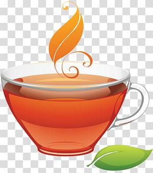 White tea Coffee Iced tea , go PNG
