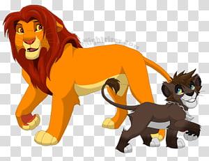 Kingdom Hearts II Simba Nala Lion Zira, simba PNG