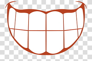 white teeth illustration, Facial expression Cartoon Face, An expression of laughter; teeth PNG clipart