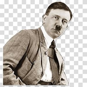 Adolf Hitler Telegram Sticker Moustache Human behavior, Let\'s Kill Hitler PNG