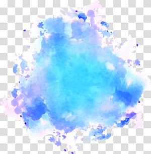 Pinkpop Festival Watercolor painting Texture, Sky blue watercolor graffiti, abstract illustratrion PNG clipart