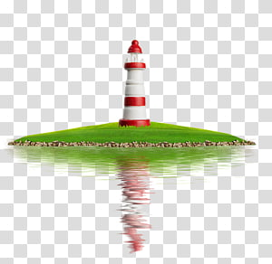 Lighthouse Icon, Island Lighthouse PNG