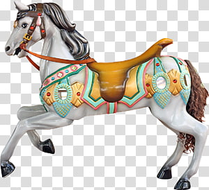 Horse Carousel , horse PNG