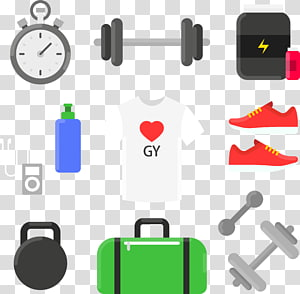 Sport, cartoon Sports Equipment PNG clipart
