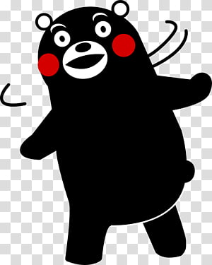 Kumamon Square Bear No Character, Kumamon PNG clipart