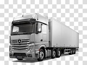grey Mercedes-Benz semi-trailer truck, Mercedes-Benz Actros Mercedes-Benz Atego Car, mercedes PNG