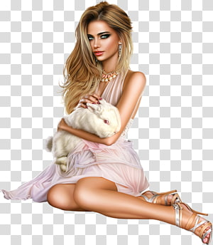 Illustration Pin-up girl Woman , girl PNG