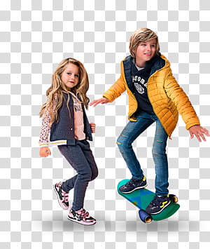 smiling boy and girl , Footwear Shoe Clothing T-shirt Outerwear, kids fashion PNG