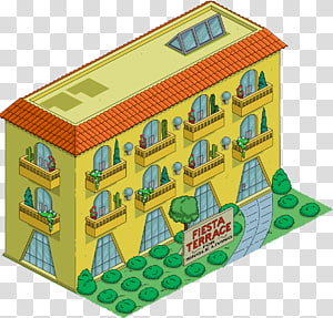 The Simpsons: Tapped Out Marge Simpson Homer Simpson House Building, house PNG clipart