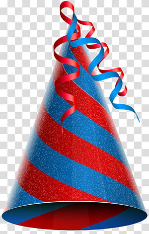 Party hat Birthday , Birthday PNG clipart