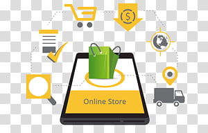 Web development E-commerce Online shopping Computer Software Web design, online shop PNG