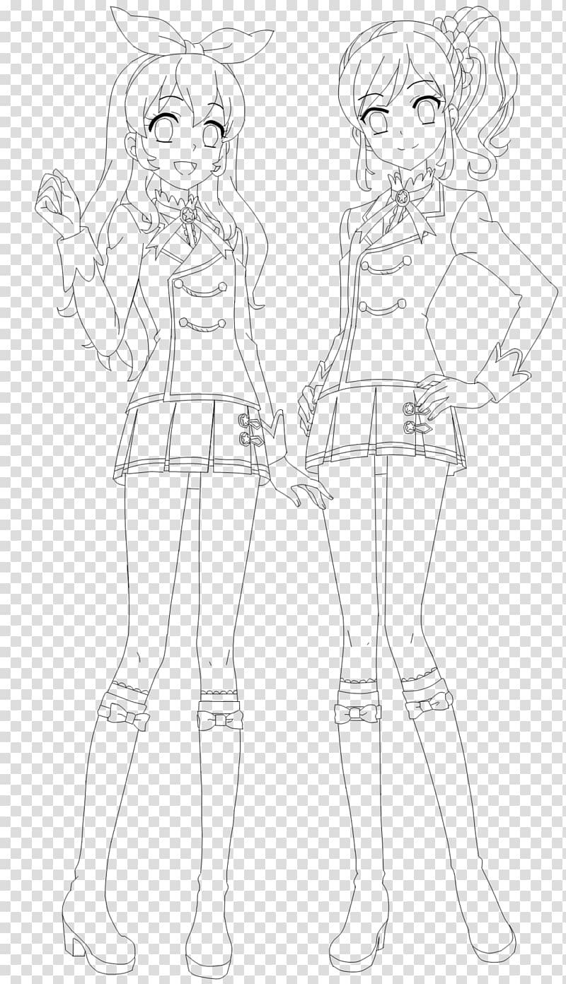 Aikatsu! Line art Drawing Sketch, ichigo anime aikatsu PNG