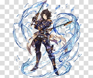Granblue Fantasy Lancelot Valiant Force Pin Cygames, others PNG