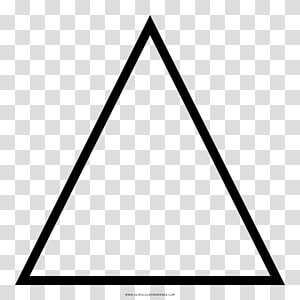 Equilateral triangle Right triangle, triangular shape PNG