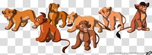 Nala Simba Lion Ahadi Art, simba PNG