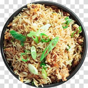 Thai fried rice Biryani Yangzhou fried rice Street food, food takeaway PNG clipart