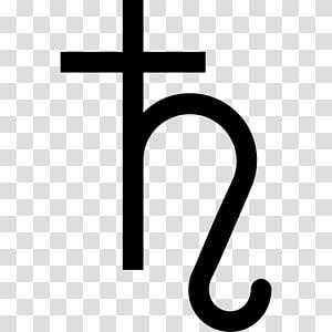 Astrological sign Saturn Astrological symbols Astrology, symbol PNG clipart
