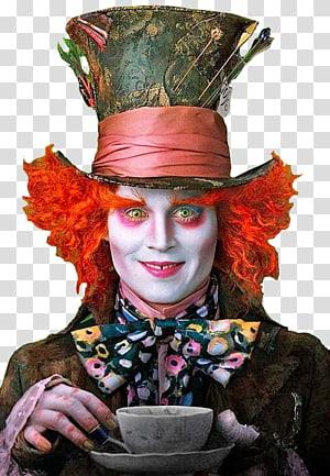 Helena Bonham Carter Alice in Wonderland Mad Hatter Red Queen Queen of Hearts, alice in wonderland PNG clipart