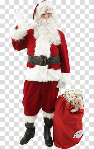 Santa Claus Costume Santa suit Christmas, santa claus PNG