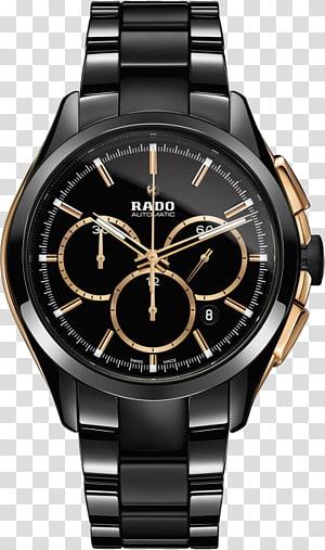 Rado Chronograph Automatic watch Baume et Mercier, watch PNG