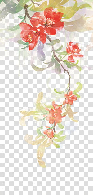 antiquity beautiful watercolor illustration PNG clipart