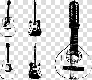 Gibson Les Paul Musical instrument Guitar String instrument, Guitar hand-painted musical instruments PNG