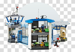 Prison Playmobil Police station Toy, Police PNG clipart