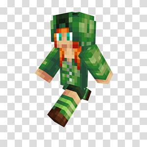 Minecraft Mod Creeper Skin, blue creeper PNG