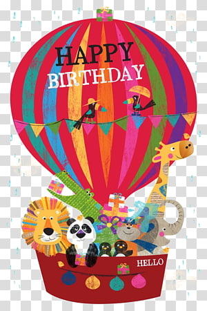 Birthday Greeting card Wish Gift, happy Birthday PNG clipart