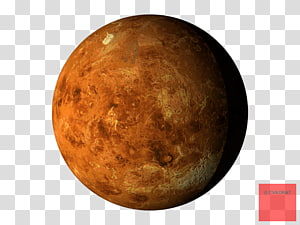 brown planet , Earth Planet Venus Mercury Solar System, planets PNG clipart