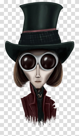 Tim Burton Charlie and the Chocolate Factory Willy Wonka Film Character, others PNG clipart