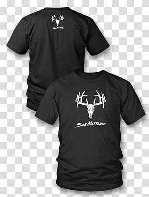 Long-sleeved T-shirt Long-sleeved T-shirt Hoodie, deer skull PNG
