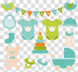 party banners , Infant clothing , baby product PNG clipart
