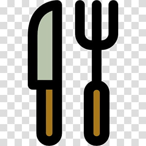 Knife Fork Scalable Graphics Icon, knife and fork PNG clipart