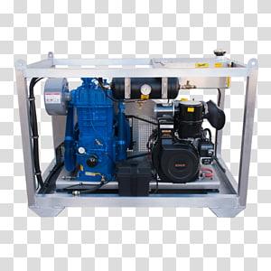Electric generator Diesel engine Car Compressor, engine oil pressure gauge PNG clipart