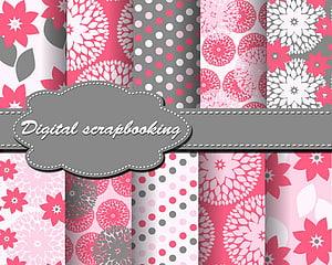 Pink Plaid cloth Patterns PNG